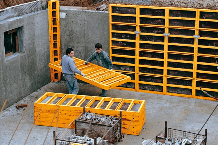 FEBE Betonschalung | Wall Formwork | Coffrages | The Benefits